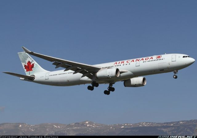 Air Canada flight 833 gets grounded at Brussels because of MLG dammage