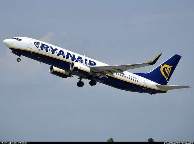 Ryanair launches 19 routes from Israel